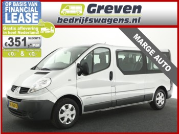 Мікроавтобус Renault Trafic Passenger 2.0 DCI T29 L2H1 EXPRESSION ECO Marge 9 Persoons Airco Cruisecontrol Navigatie Metallic 6bak Elektrpakket