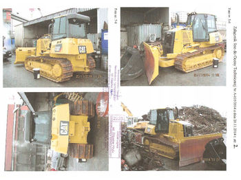 Бульдозер CATERPILLAR D6K XL