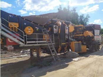 FABO MOBILE CONE CRUSHER WITH VIBRATING SCREEN FABO MCC SERIES - дробарка