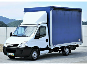 Iveco Daily 35S18 *Pritsche+Plane 3,60m* Topzustand!  - тентований фургон