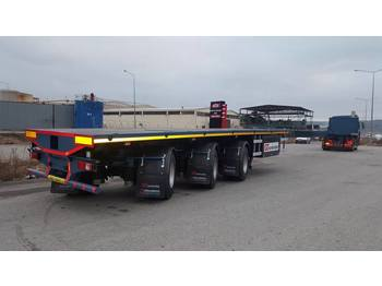 Flatbed Semi Trailers - платформа напівпричіп