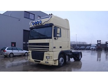 DAF 95 XF 430 Super Space Cab (MANUAL PUMP / EURO 2 / PERFECT) - тягач