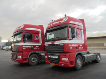 DAF XF 460 SUPERSPACE 2X - тягач