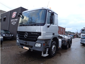 Mercedes-Benz Actros 3344 s lames/steel/hydraulic - тягач