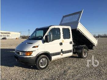 IVECO DAILY 35C13A Crew Cab - самоскид вантажівка
