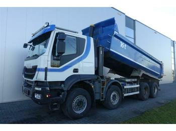 Iveco TRAKKER 500 8X4 FULL STEEL HUB REDUCTION EURO 6  - самоскид вантажівка