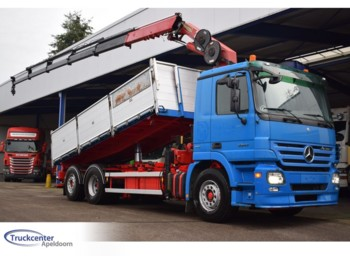 Mercedes-Benz Actros 2541, Euro 5, 22 t/m Hmf, 6x2, 3 Way tipper - самоскид вантажівка