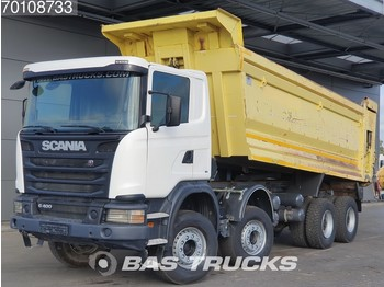 Самоскид вантажівка Scania G400 8X4 Manual 26m3 Big-Axle Steelsuspension Euro 5