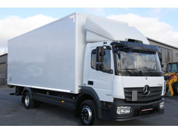 Вантажівка з закритим кузовом MERCEDES-BENZ ATEGO 1224 E6 KOFFER CONTAINER BOX 7.2 M 18 PALLETS
