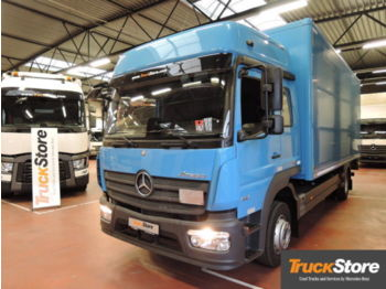 Mercedes-Benz Atego Neu Verteiler 1221 L Active Brake Assist  - вантажівка з закритим кузовом