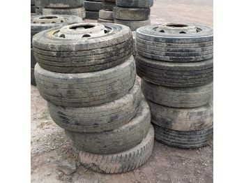Tyres & Rims to suit 7.5 Ton Lorry (10 of) - 7022-4 - колесо/ шина